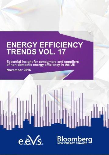 ENERGY EFFICIENCY TRENDS VOL 17