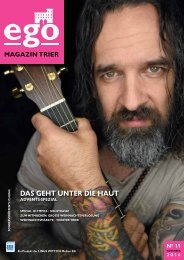 ego Magazin Trier - Ausgabe 11