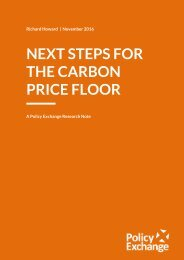 NEXT STEPS FOR THE CARBON PRICE FLOOR