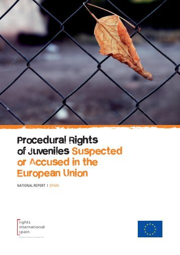 Procedural Rights of Juveniles Suspected or Accused in the European Union