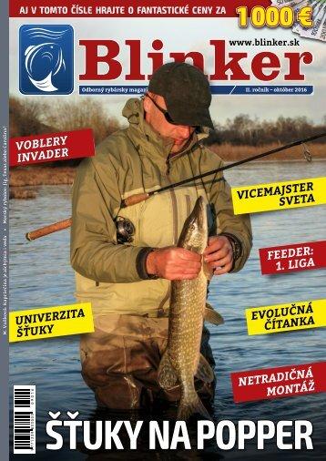 Magazín Blinker 10/2016