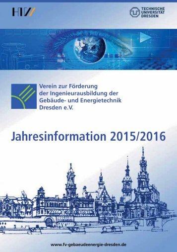 Jahresinformation 2015/2016 | fv-gebaeudeenergie-dresden-de