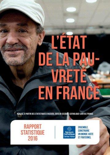 L'ÉTAT DE LA PAU- VRETÉ EN FRANCE