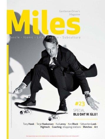 Miles #23 Special Blij dat ik glij!