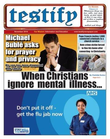 Testify Newspaper