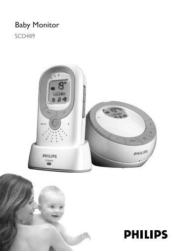 Philips Écoute-bébé DECT - Mode d'emploi - TUR