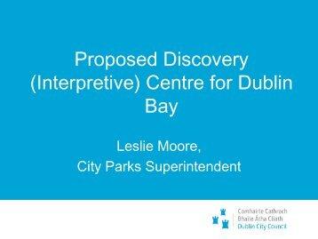 Proposed Discovery (Interpretive) Centre for Dublin Bay