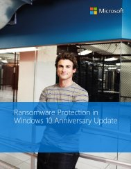 Ransomware Protection in Windows 10 Anniversary Update