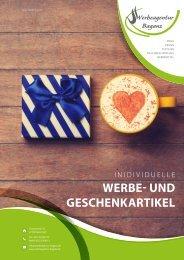 Produktkatalog Werbeagentur Baganz - Individuelle Werbe- und Geschenkartikel