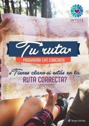 TU RUTA: Programa Life Coaching