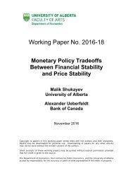 Working Paper No 2016-18