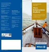 Allianz Embarcaciones de placer