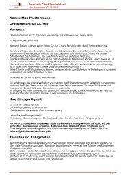 KOSTENLOSE Persönlichkeitsanalyse für Sie-03.12.1955