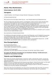KOSTENLOSE Persönlichkeitsanalyse für Sie-04.07.1955