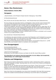 KOSTENLOSE Persönlichkeitsanalyse für Sie-04.03.1992