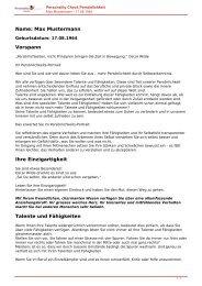 KOSTENLOSE Persönlichkeitsanalyse für Sie-17.08.1964