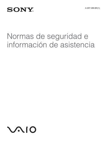 Sony VPCF23M1E - VPCF23M1E Documenti garanzia Spagnolo