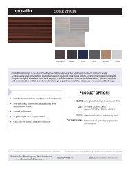 Cork Strips - Cut Sheet