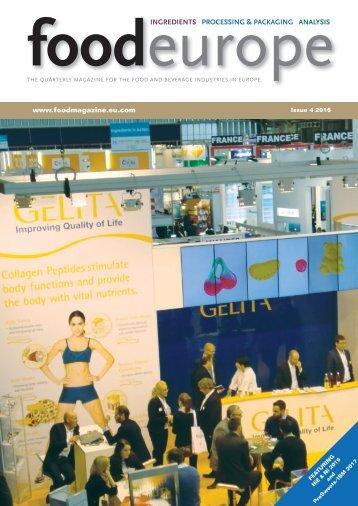 FoodEurope Issue 4 2016