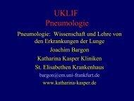 UKLIF Pneumologie - St. Elisabethen - Krankenhaus