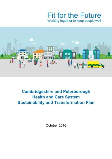 Health and Care System Sustainability and Transformation Plan