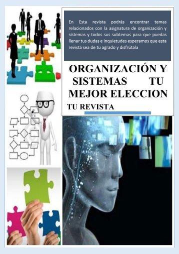 revista organizacion y sistemas