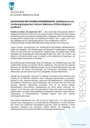 AGAPLESION BETHANIEN KRANKENHAUS: Gefäßzentrum am ...