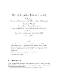 More on the Optimal Taxation of Capital