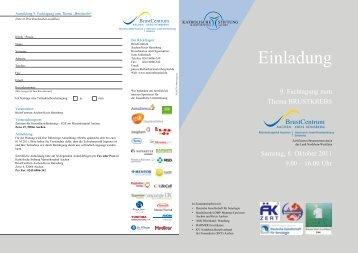 Einladung - Praxis Dr. M. Danaei. Frauenarzt-Senologie-Brustchirurgie