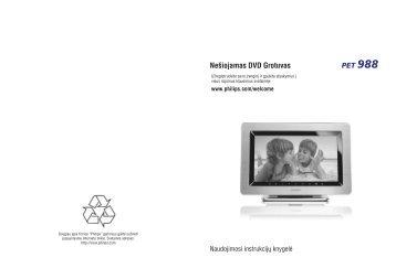 Philips Lecteur DVD portable - Mode d'emploi - LIT