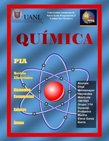 Revista Electronica QUIMICA by Elisa Montemayor