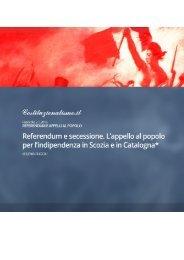 referendum procedimentalizzato costituzionale questioni democratica essere
