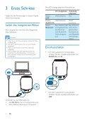 Philips Enceinte portable sans fil - Mode d'emploi - DEU - Page 6