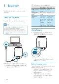 Philips Enceinte portable sans fil - Mode d'emploi - TUR - Page 6