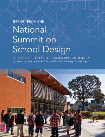National Summit on School Design
