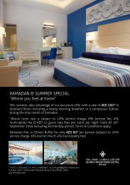 Opening Package  Flyer - Corporate Summer Offer