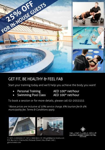Swimming Lessons & Personal Training