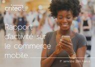 Rapport d'activité sur le commerce mobile