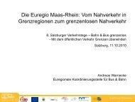 Mobile Euregio Maas-Rhein Erfolge der Zusammenarbeit
