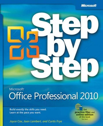 microsoft-office-professional-2010-step-by-step
