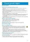 Philips GoGear Baladeur audio à mémoire flash - Mode d'emploi - TUR - Page 5