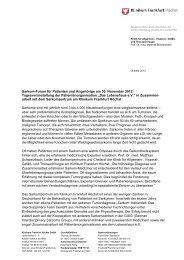 Einladung zum Sarkom-Forum am 30.11.2012 - Klinikum Frankfurt ...