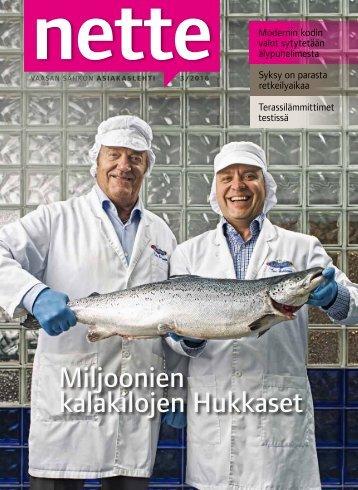 Miljoonien kalakilojen Hukkaset