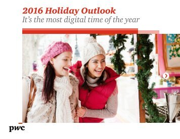 2016 Holiday Outlook