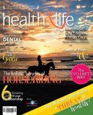 Health and life magazine May 2016