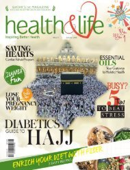 Health and life magazine August 2016