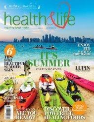 Health and life magazine September 2016