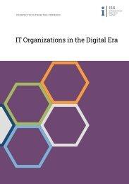 IT Organizations in the Digital Era