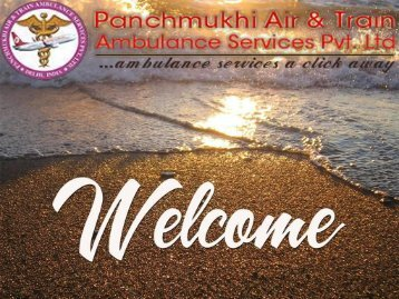 Panchmukhi air and train ambulance services in Jammu-Siliguri