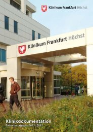 reha·zentrum - Klinikum Frankfurt Hoechst